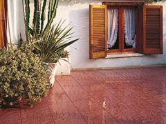 Pavimento per esterni carrabile in graniglia ARCHI -