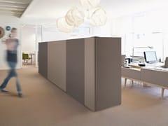 Pannello divisorio fonoassorbente free standingARCHITECTS TEXTILE BUILD - ACOUSTICPEARLS