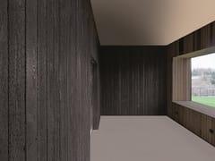 Sapiens, ARDES DRY BLACK Rivestimento in legno bruciato per interni ed esterni