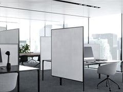 Divisorio ufficio fonoassorbente in tessutoAREA - GARVAN ACOUSTIC