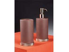 Dispenser sapone / portaspazzolinoARENA 6102TRG + 6106TRG - NICOLAZZI