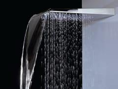Soffione doccia a muro in ottone con sistema anticalcareARETHUSA | Soffione doccia - TECH RAIN