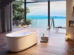 Vasca da bagno centro stanza idromassaggio in acrilicoARGA | Vasca da bagno centro stanza - JACUZZI EUROPE