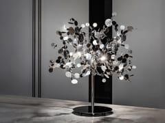 LAMPADA DA TAVOLO A LED IN METALLOARGENT | LAMPADA DA TAVOLO - TERZANI