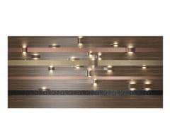Pannello decorativo luminoso in legno impiallacciatoARGI - DOORWAY