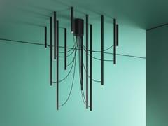 Lampada da soffitto in alluminio anodizzatoARI - FABBIAN