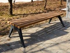 Panchina in legno senza schienaleARIA | Panchina senza schienale - PUNTO DESIGN