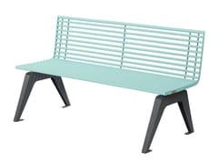 Punto Design, ARIA | Panchina con schienale  Panchina con schienale