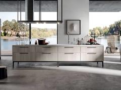 Modulo cucina freestanding laccato a isolaARIA | Modulo cucina freestanding - ARREDO 3