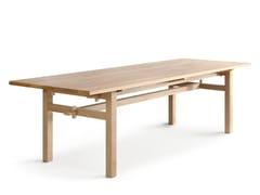 Tavolo da giardino rettangolare in rovereARKIPELAGO KVP10T - NIKARI
