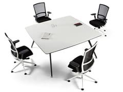 Tavolo da riunione quadratoARKITEK | Tavolo da riunione quadrato - ACTIU