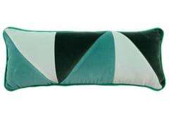 Cuscino rettangolare in cotone a motivi geometriciARLECCHINO 482-19 - L'OPIFICIO