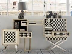 Consolle in legno con cassetti e ripianiARLEQUIN - LOLA GLAMOUR