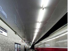 Pannelli per controsoffitto in metalloARMSTRONG METAL RECTANGULAR CLIP IN - KNAUF CEILINGS SOLUTIONS