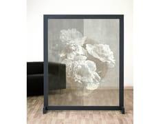 Pannello divisorio floreale in IMPEX® e struttura in legnoARNAGE - SPAZIO 81
