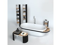 Mobile bagno a colonna a giorno da terraARO | Mobile bagno a colonna - KRION PORCELANOSA GRUPO