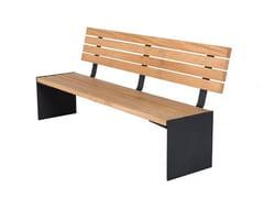 Euroform W, ARON | Panchina con schienale  Panchina con schienale