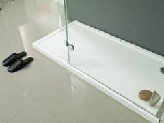 KRION, ARQUITECT Piatto doccia rettangolare in acrilico