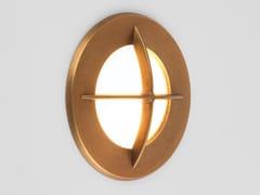 Segnapasso a LED a parete in ottone per esterniARRAN ROUND - ASTRO LIGHTING
