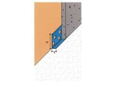 EDILFERRO TRAVEST, ART. 2100 Profilo di delimitazione o di zoccolo per intonaco