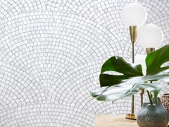 Koziel, ART DECO MOSAIC LIGHT GREY | Carta da parati  Carta da parati