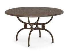 Tavolo da giardino rotondo in alluminio riciclatoARTEMIS   Tavolo rotondo - OXLEY'S FURNITURE