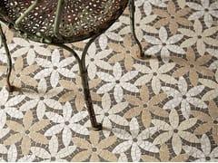 Lithos Mosaico Italia, ARTISTIC CONTEMPORARY - PRÈ DE FLEURS Mosaico in marmo