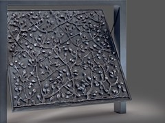 Portone da garage basculante in acciaioARTISTIC - DE NARDI