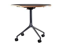 Tavolo rotondo in legno con piano a ribaltaAS400 | Tavolo - HOWE
