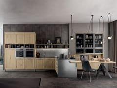 Cucina componibile con penisolaASIA - ARREDO 3