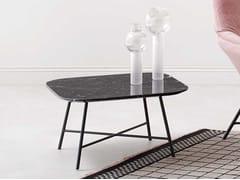 Tavolino quadrato in metalloASIA | Tavolino - PAOLA ZANI