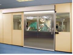 Porta automatica scorrevole ermeticaASSA ABLOY HERMETIC - ASSA ABLOY ENTRANCE SYSTEMS ITALY