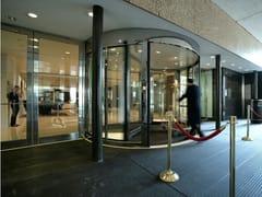Porte automatiche girevoli a due settoriASSA ABLOY UniTurn - ASSA ABLOY ENTRANCE SYSTEMS ITALY
