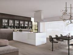 Cucina componibile laccata con penisolaASSIM | Cucina con penisola - EUROMOBIL