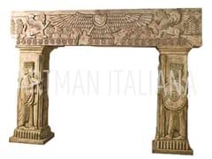 Scultura in pietra ricostruitaARREDI A TEMA ASSIRO-BABILONESE - ARTMAN ITALIANA