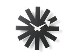 Orologio in legno da pareteASTERISK CLOCK - VITRA