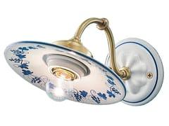 Applique in ceramica con braccio fissoASTI | Applique in ceramica - FERROLUCE