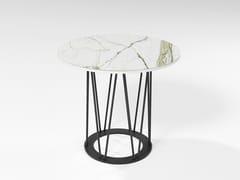 Tavolino in HPL e tondino di ferroASTORGA | Tavolino in HPL - BAREL