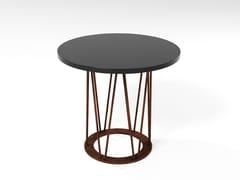 Tavolino in MDF e tondino di ferro ASTORGA | Tavolino in MDF - Sistema Santiago
