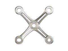 Sistema e profilo di ancoraggio per facciata in acciaio inoxASTRA A - NUOVA OXIDAL