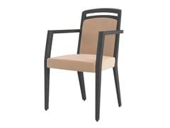 Sedia imbottita con braccioliASTRA | Sedia con braccioli - BLIFASE