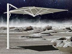 Scolaro Parasol, ASTRO STARWHITE Ombrellone orientabile con palo laterale