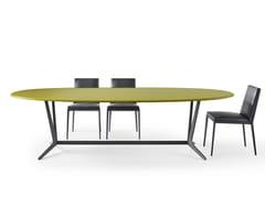 Tavolo ovale in legno ASTRUM | Tavolo ovale -
