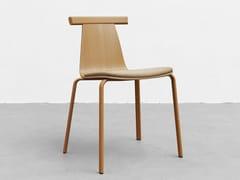 Sedia impilabile in legnoATAL | Sedia - ALKI