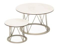 Tavolino da giardino rotondo in HPLATAMAN MESH | Tavolino - ANIMO D.O.O.