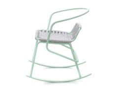 Sedia a dondolo da giardino in corda con braccioliATAMAN | Sedia a dondolo - ANIMO D.O.O.