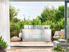 Cucina da esterno in acciaio inoxATELIER 21 - ABIMIS IS A PRISMA S.R.L. BRANDMARK
