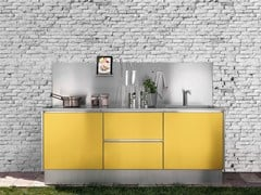 Cucina da esterno in acciaio inoxATELIER 24 - ABIMIS IS A PRISMA S.R.L. BRANDMARK