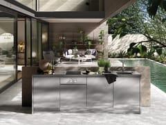 Cucina da esterno in acciaio inoxATELIER 25 - ABIMIS IS A PRISMA S.R.L. BRANDMARK
