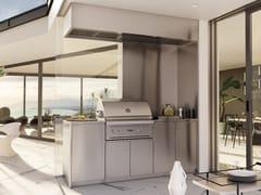 Cucina da esterno in acciaio inox con grillATELIER 26 - ABIMIS IS A PRISMA S.R.L. BRANDMARK